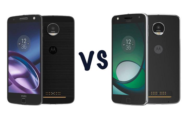 Сравнение смартфонов Moto Z Play или Moto Z