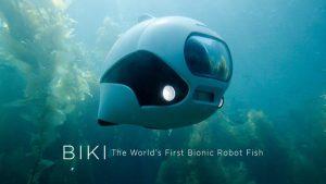 Рыба-робот BIKI — первая в мире био-рыба-фотограф