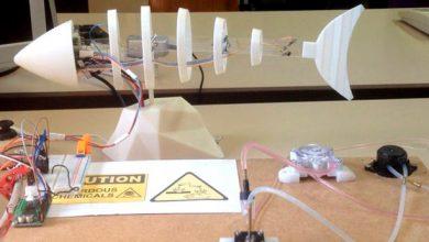 Рыба-робот определяет качество воды