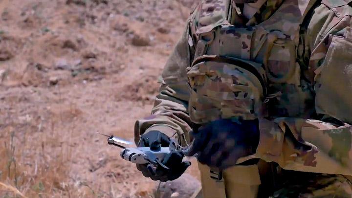 Миниатюрный беспилотник Snipe Nano Quadrotor
