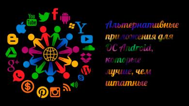 Альтернативные приложения для ОС Android, которые лучше, чем штатные