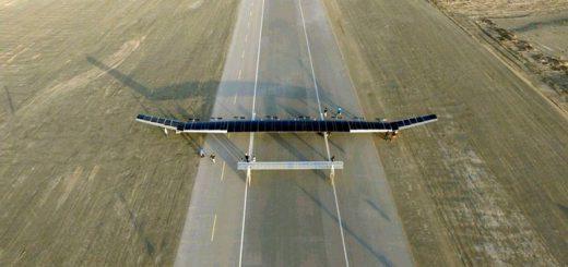 Гигантский беспилотник на солнечных батареях