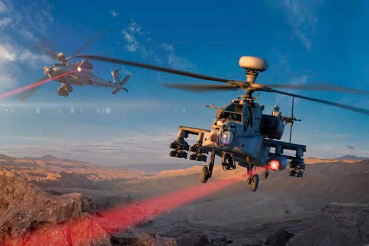 Испытания боевого лазера Raytheon прошли успешно