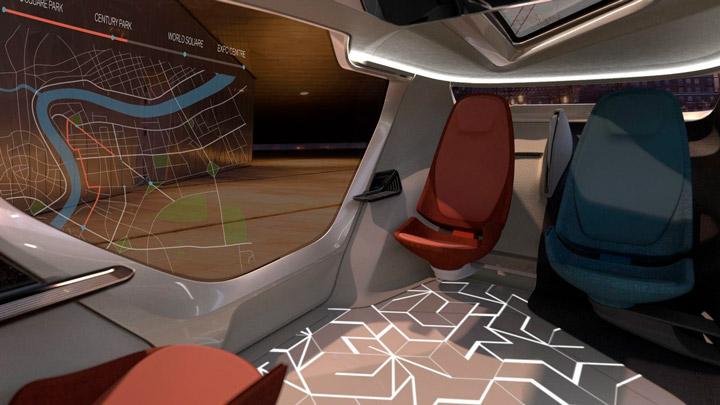 Концепт беспилотного автомобиля-комнаты на колесах (видео) 2
