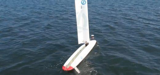 Lockheed Martin запустила летающий дрон с подводного (видео)