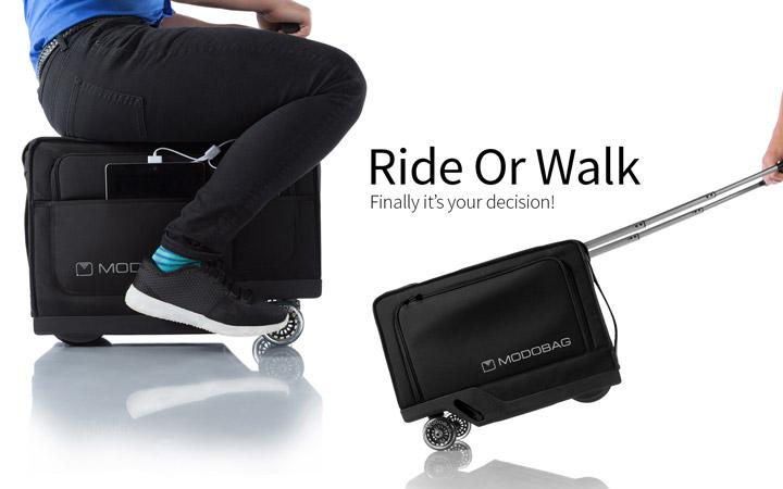 Modobag – чемодан, как средство передвижения