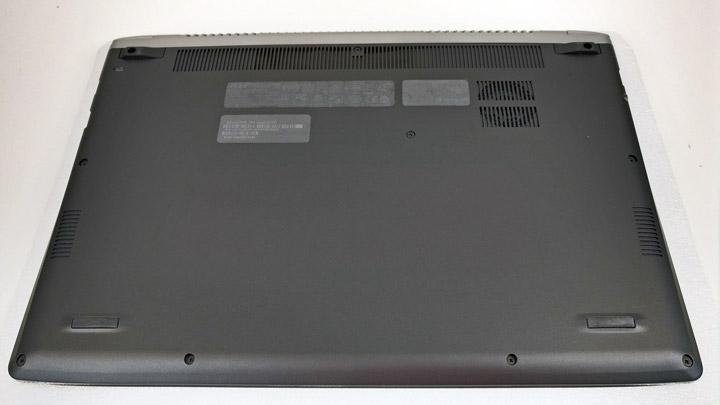 Нагрев, шум и система охлаждения Acer Swift 5