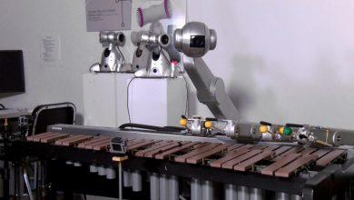 Робот Шимон создает музыку