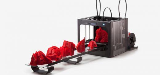 Созданный конвейерный 3D принтер для серийного производства
