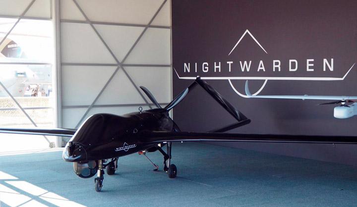 Стратегический беспилотник «Ночной страж» от Textron (видео)