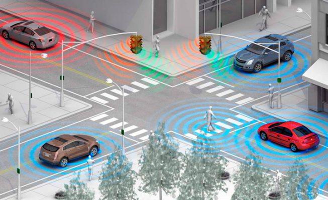 Система Intersection Collision Warning от Ford