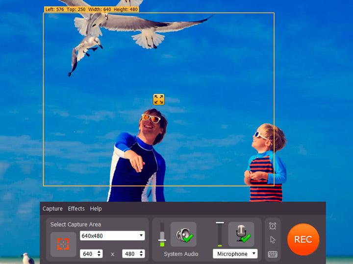 Захват видео и его обработка без проблем, с помощью Movavi