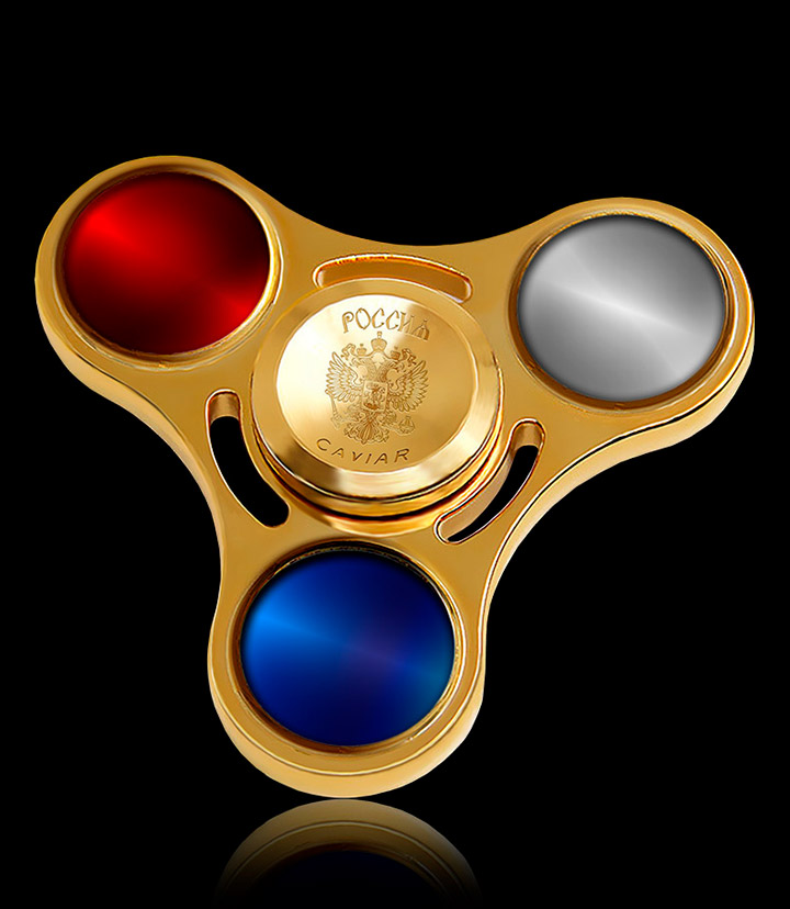 Caviar Spinner Tricolor