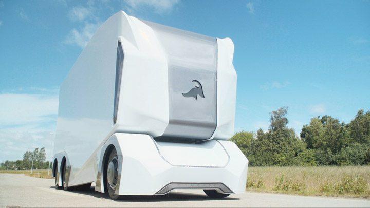 T-Pod — робот-грузовик