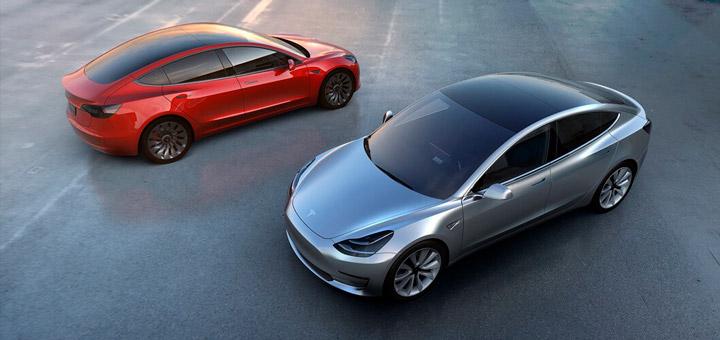 Tesla Model 3 серийно