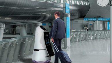 В аэропорту Сеула можно подружиться с роботом