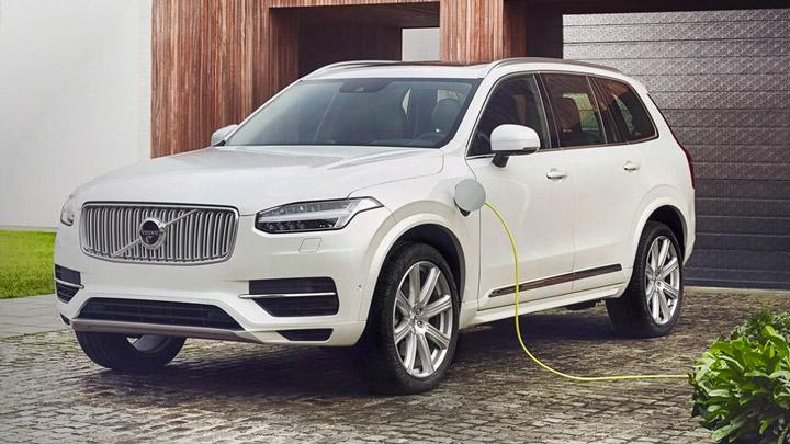 Volvo электромобили в 2019 году