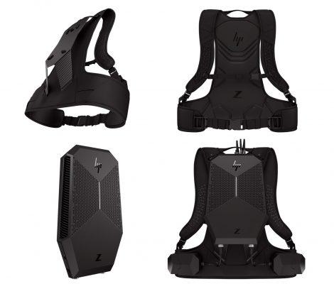 HP Z VR Backpack, переносная рабочая станция