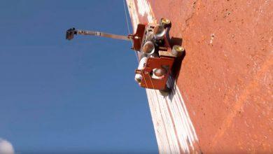 Робот, создает граффити (видео)