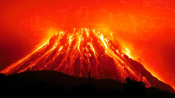Вулканы – вот, что убьет человечество