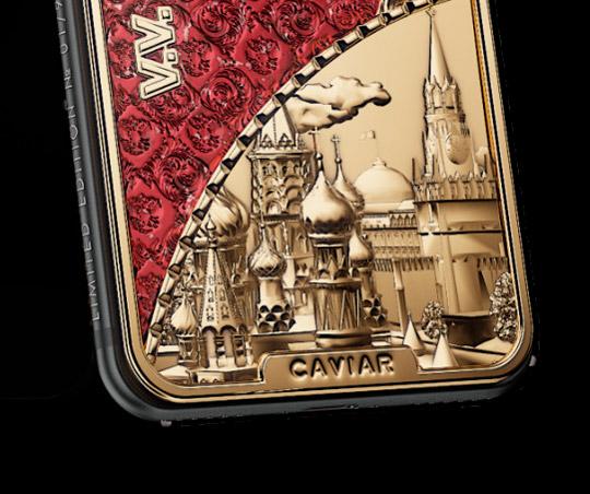 Caviar выпустит юбилейный iPhone Х «Путин 2018» Costitution Red 2