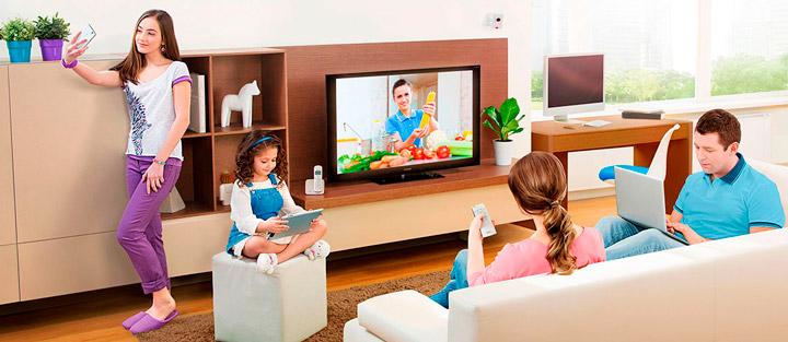 Домашний интернет и ТВ от МГТС