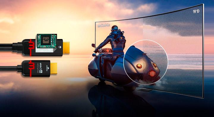 Кабель mCable умеет сглаживать изображение в играх