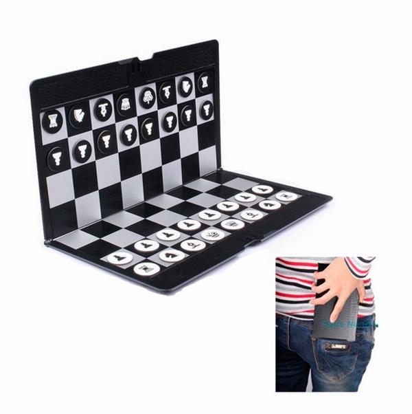 Карманные шахматы с aliexpress