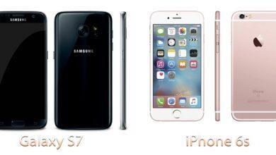 Обзор-сравнение Galaxy S7 и iPhone 6s
