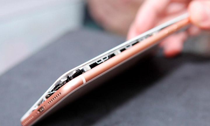 Расследование случаев «вздутия» iPhone 8 (2)