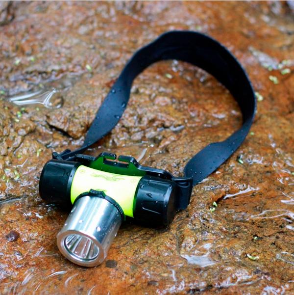 Светодиодный налобный фонарик