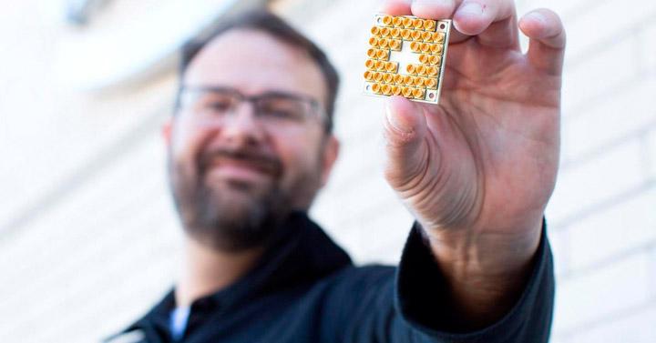 В Intel создали чип для квантового компьютера