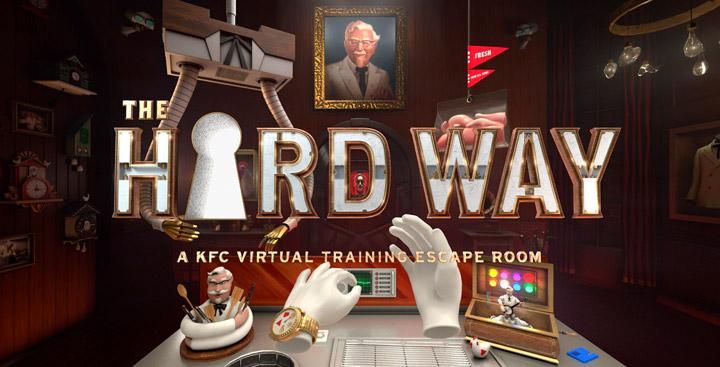 VR симулятор компании KFC напоминает ужастик