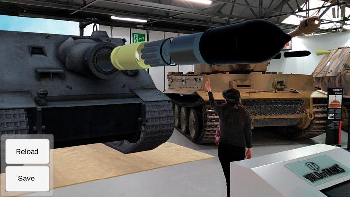 Wargaming приглашает на AR-экскурсию по танку времен Второй мировой войны 2
