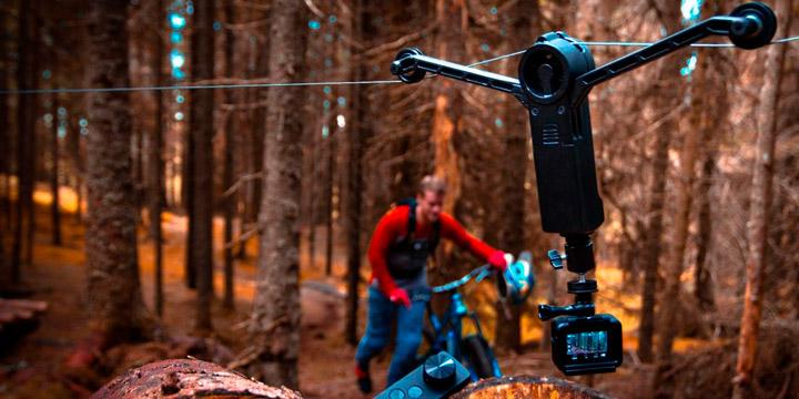Wiral Lite: канатная дорога & камера (видео)