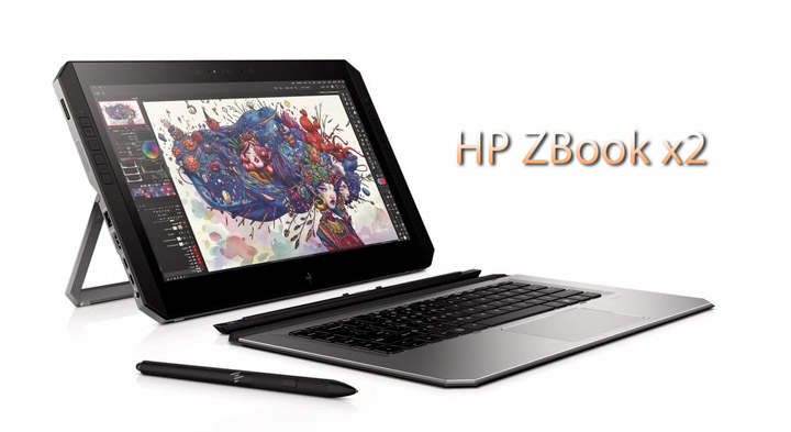 ZBook x2 - мощный ноутбук-трансформер от Hewlett-Packard