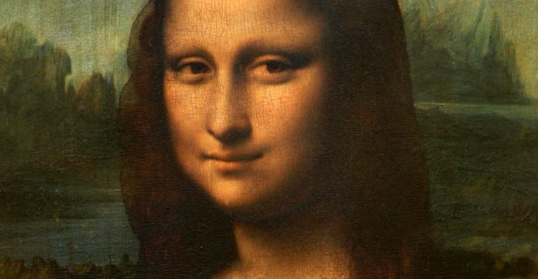 Дополненная реальность улыбки Моны Лизы