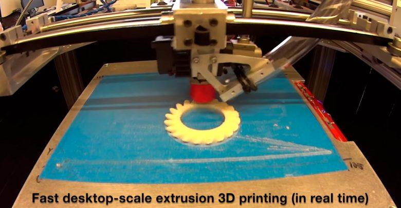 Как ускорить 3D-печать в 10 раз? В MIT знают ответ на этот вопрос!