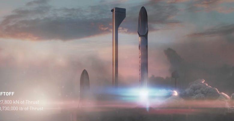 Межпланетная транспортная система. Маск показал, какой она будет