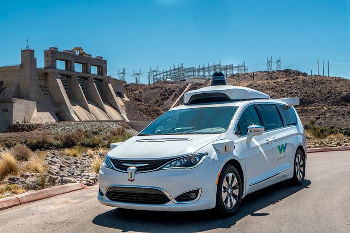 Первое самоуправляемое такси запущено компанией Waymo