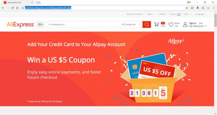 Покупатели AliExpress стали объектом хакерских атак