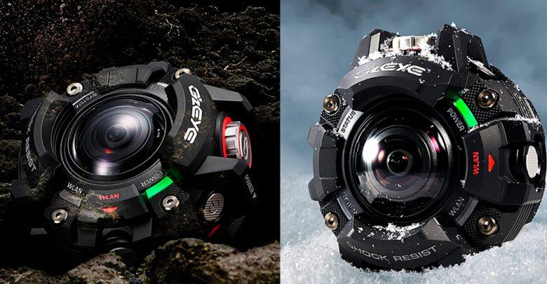Casio G'z EYE – экшен-камера, которая ничего не боится!