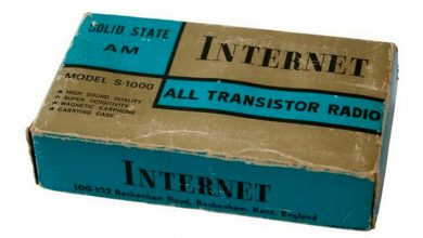 Internet — впервые появился в середине прошлого века