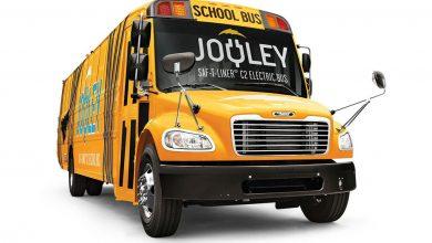 Школьный электроавтобус презентовала компания Daimler
