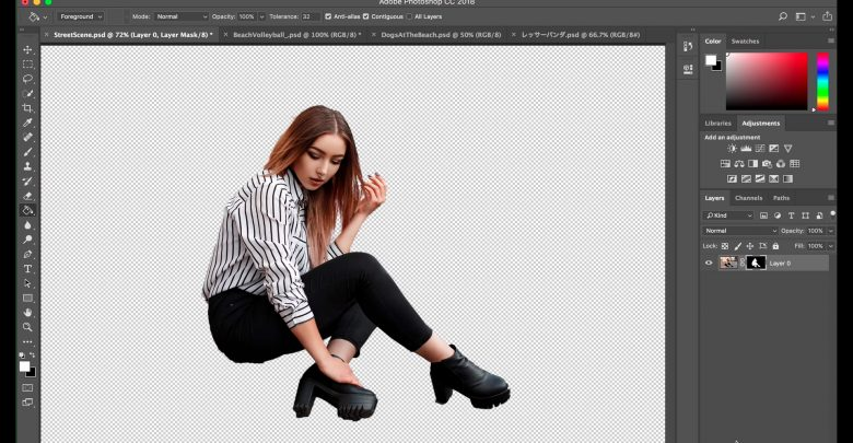 Photoshop с ИИ сможет точнее выделять объекты