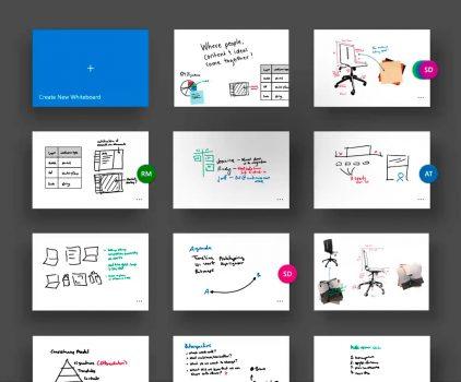 Электронная доска для рисования. Whiteboard Preview приложение от Microsoft