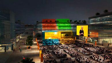 Главный кампус Microsoft. Начало мегареконструкции. (Видео)
