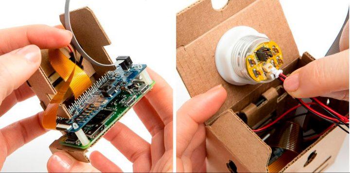 Картонная камера AIY Vision Kit от Google поддерживает нейросети