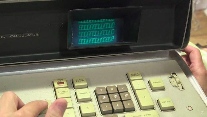 Первый электронный калькулятор — Feden EC-132