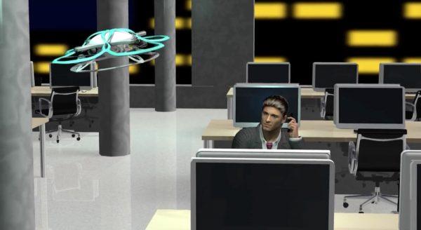 Поющий дрон T-FREND будет бороться с трудоголиками